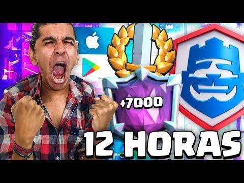 12 HORAS !! COPYRIGHT! SOKING LLAMADA PROS EN VIVO! DESAFIOS! LADDER! Y JUEGOS RANDOM! CLASH ROYALE