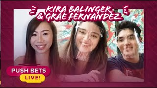 Kira Balinger, Grae Fernandez share their experience working with veteran actors | Push Bets Live
