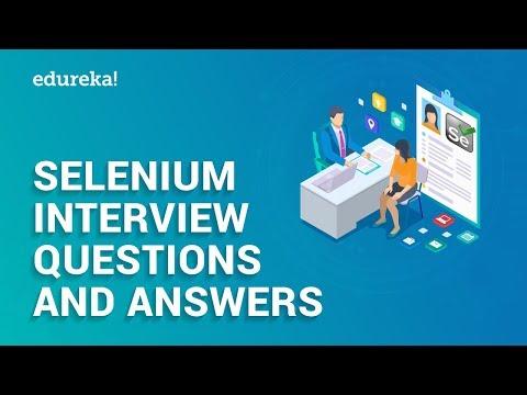Selenium Interview Questions And Answers | Selenium Interview Preparation | Edureka