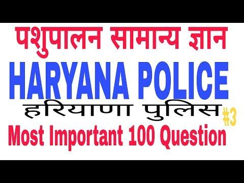 Haryana police gk//पशुपालन//most important question//pashupalan//animal husbandry in Hindi