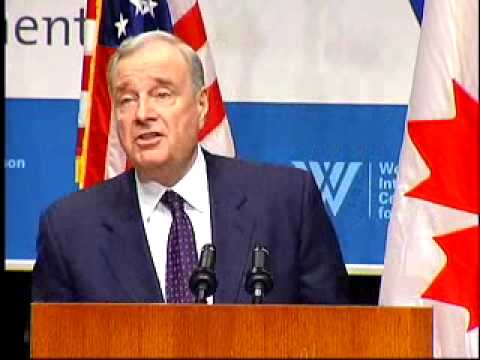 Prime Minister of Canada, the Right Honorable Paul Martin, Speaks at Wilson Center Event
