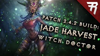 "2.4.2 Witch Doctor ""Soul Reaver"" Jade Harvester Build - Diablo 3 Reaper of Souls Season 7"