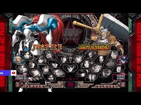 Guilty Gear XX Accent Core Plus All Characters [PS3]