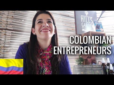 Sunny Usaquen Markets & Colombian Entrepreneurs in Bogota