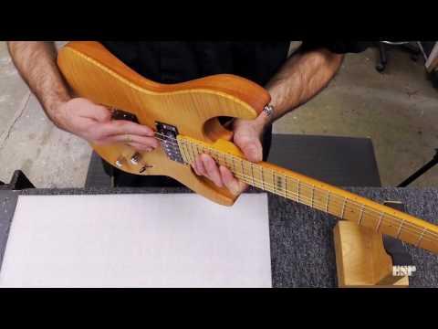 ESP Guitars: Adjusting String Height on a Floyd Rose