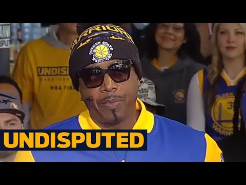 MC Hammer joins Skip Bayless and Shannon Sharpe at the 2017 NBA Finals | UNDISPUTED