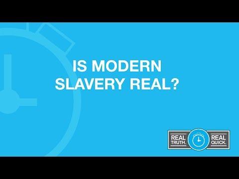 Is Modern Slavery Real?