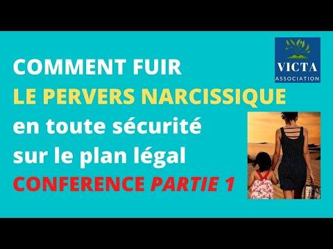 Vidéo : fuir le pervers narcissique en toute sécurité. Conférence du 16 juin 2021. Partie 1