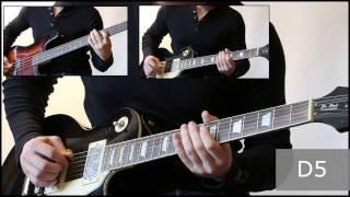 Как играть на гитаре Мой характер - Король и шут  ( видеоурок Guitar riffs) + табы