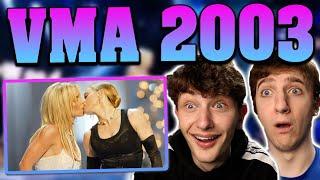 Madonna, Britney Spears, Christina Aguilera & Missy Eliot VMA 2003 REACTION!! (Live Performance)