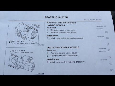 2002 Nissan Frontier Starter Install update - YouTube on 02 dodge ram 2500 wiring diagram, 02 ford ranger wiring diagram, 02 chevy venture wiring diagram, 02 gmc sierra wiring diagram, 02 hyundai accent wiring diagram,