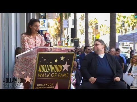Lana Del Rey Speaking At Guillermo Del Toro's Walk Of Fame Ceremony