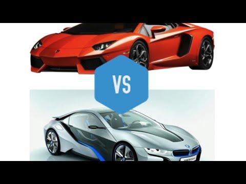 Bmw I8 Vs Lamborghini Gallardo Youtube