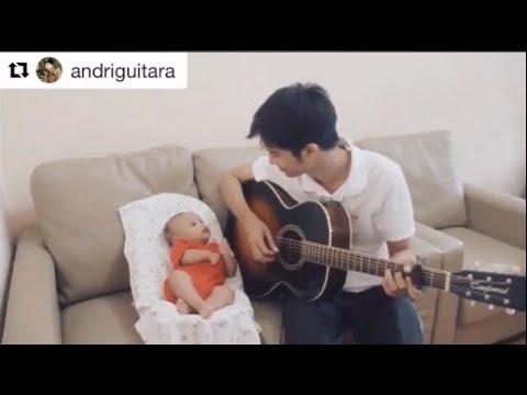 Papa Muda Main Gitar Dengan Bayi !! #WAJIBTONTON