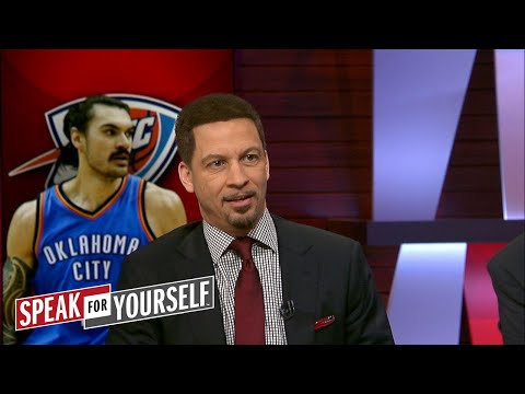 Chris Broussard on Steven Adams play in OKC, LeBron's fit with Lonzo Ball |SPEAK FOR YOURSELF