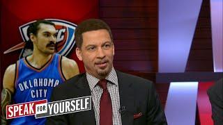 Chris Broussard on Steven Adams play in OKC, LeBron