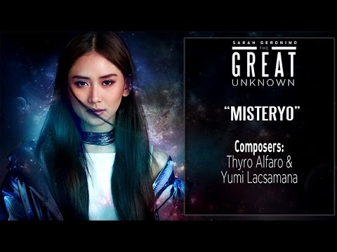 Sarah Geronimo - Misteryo [Official Lyric Video]