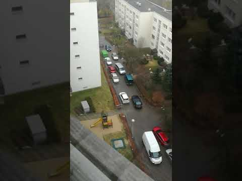 Funny local traffic jam #Warsaw
