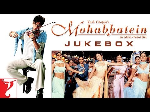Mohabbatein Audio Jukebox  Full Songs  Shah Rukh Khan  Aishwarya Rai