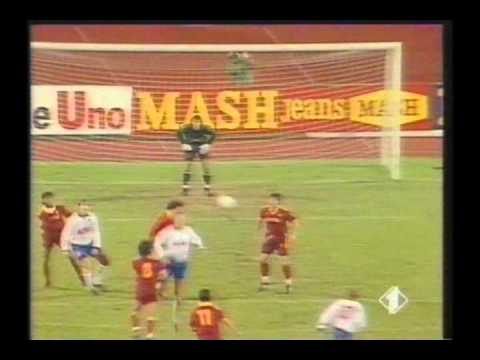 1991 September 18 CSKA Moscow USSR 1 AS Roma Italy 2 Cup Winners Cup thumbnail