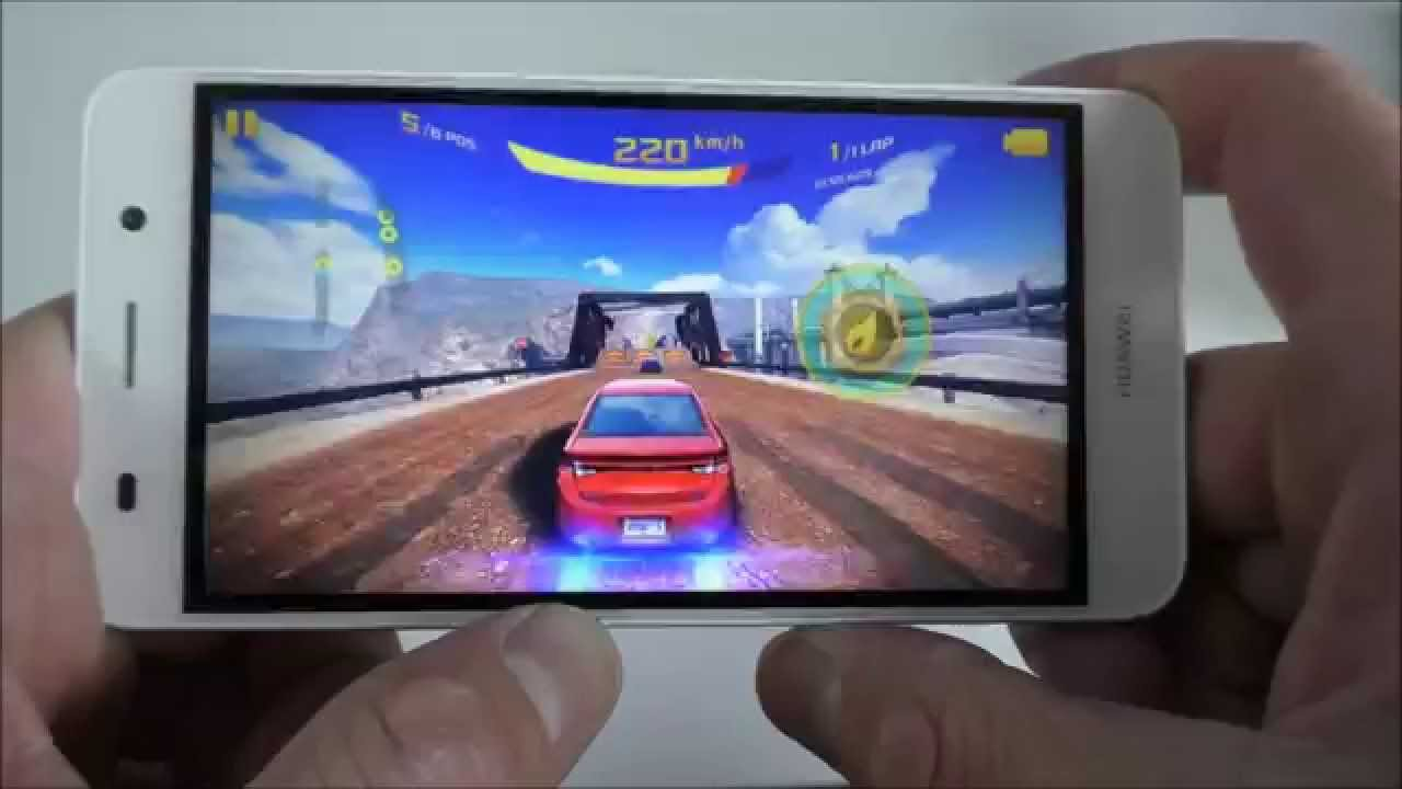 Huawei Y6 Gaming Test - GTA, Asphalt 8, Modern Combat - YouTube