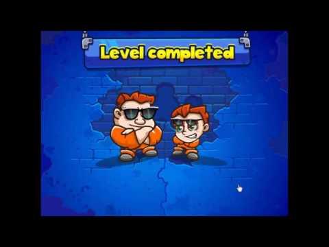Игра Побег из Тюрьмы Двух Заключенных + Прохождение 20 уровней