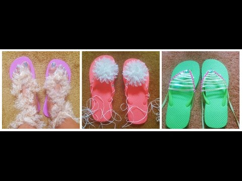 91c3a1713 DIY Flipflops to simple Sandal Makeovers