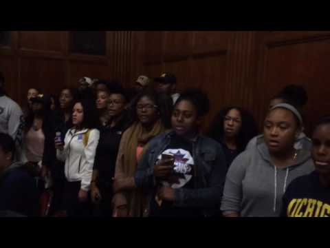 Black Lives Matter protesters take over Michigan Political Union event