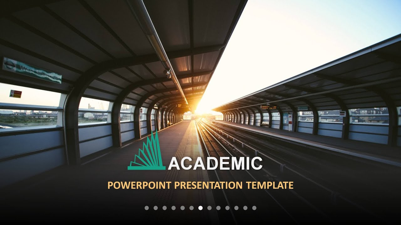 demo : academic multipurpose powerpoint template - youtube, Modern powerpoint