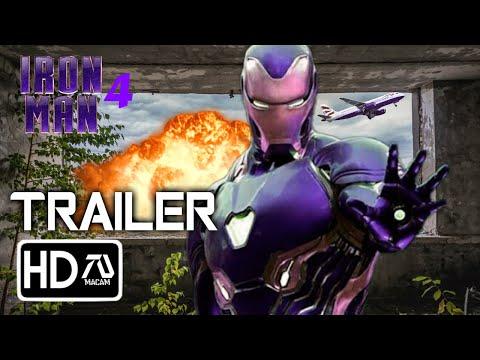 IRON MAN 4 Trailer [HD] Robert Downey Junior MCU Movie (Fan Made)