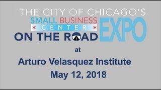 Small Business on the Road at Arturo Velasquez Institute