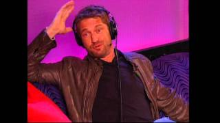 Actor Gerard Butler and Howard Stern - why circumcision is wrong !