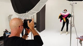 Fashion Photography: How to make a catalogue photoshoot (BTS)