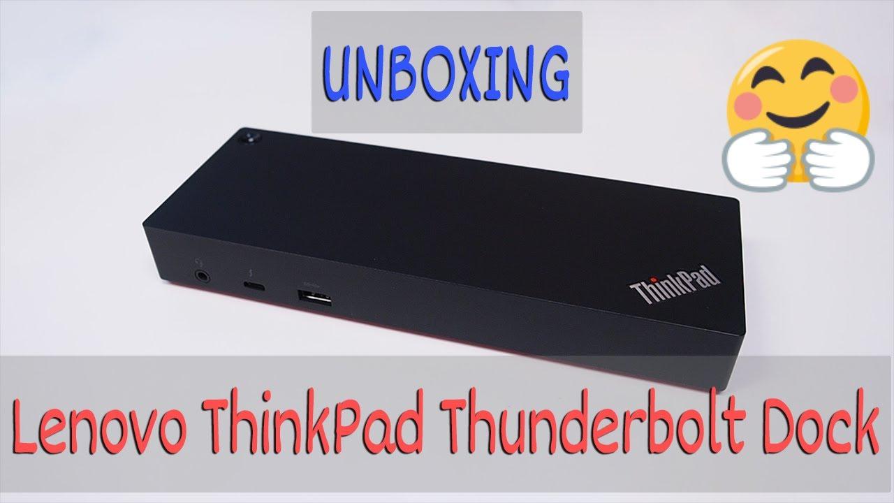 Lenovo ThinkPad Thunderbolt Dock Unboxing Why not?