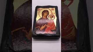Икона Богородица 7*10 см.