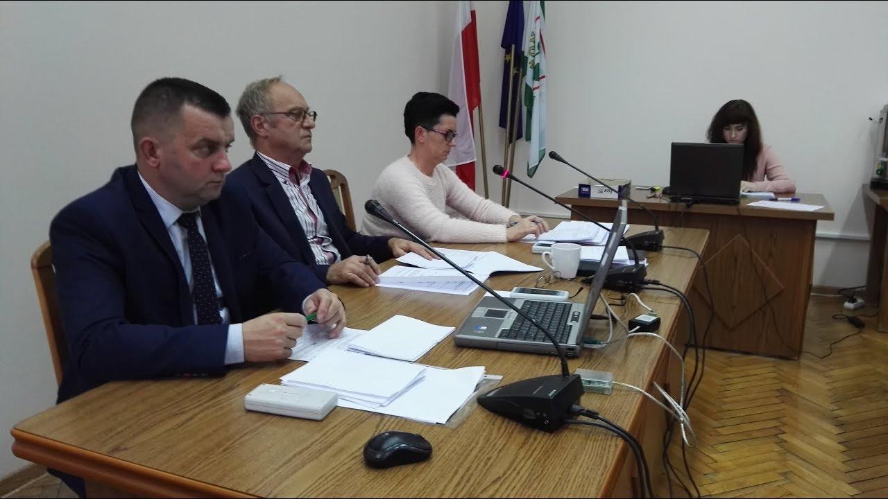 XLIII Sesja Rady Miejskiej w Nowym Stawie cz.1 – 26.10.2017