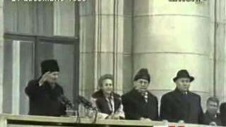 Ultimo discorso pubblico del presidente romeno Nicolae Ceaușescu, Bucarest, 21 dicembre 1989