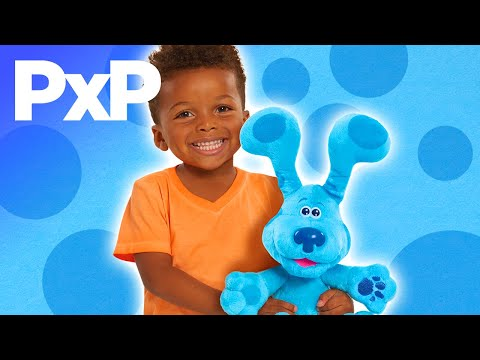 Play peek-a-blue with new interactive 'Blues Clue's & You!' plush! | A Toy Insider Play by Play