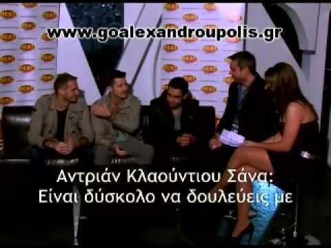 Axcent live @alexandroupolis interview