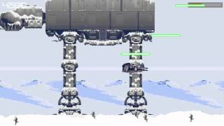 Hoth Escape  (v1.0) - Game made in processing