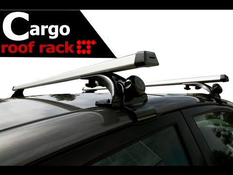 Universal Rooftop Roof Rack Crossbar Installation Guide By LT Sport CB SU 4D