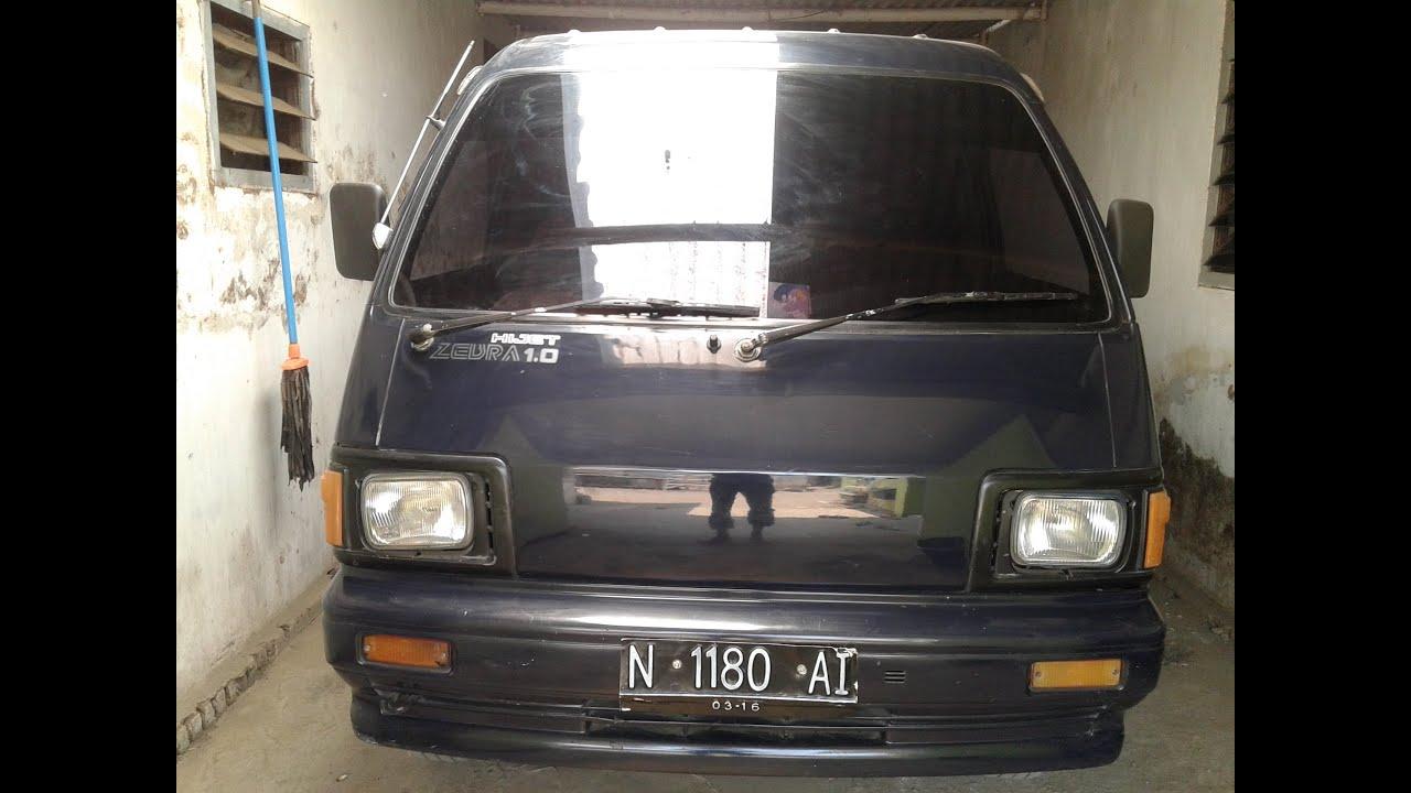 Jual Daihatsu Zebra Minibus 10 1988 Station Wagon S88 YouTube