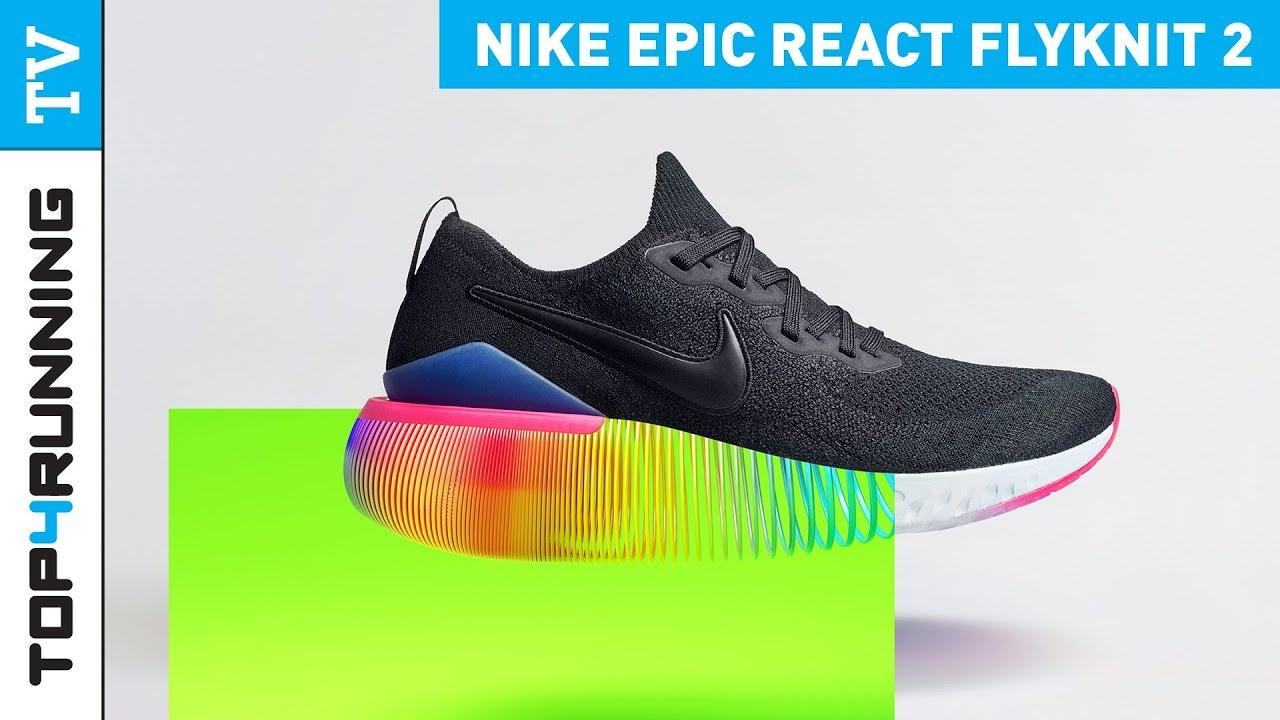 Precaución forma Alicia  Nike React Epic Flyknit 2 - YouTube