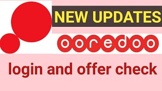 Ooredoo app new update//how to login ooredoo app//ooredoo software ko login kaise karen screenshot 3