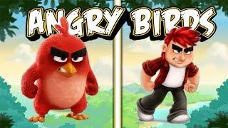 Angry Birds HUMAN Version!