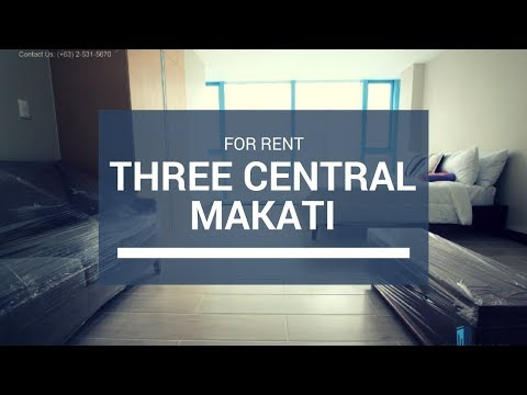 Three Central Makati Condo For Lease 47K/Mo