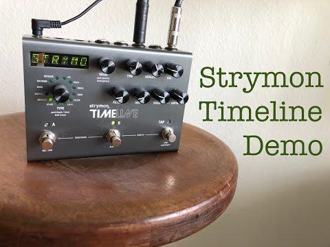 Strymon Timeline - Demo of Various Presets