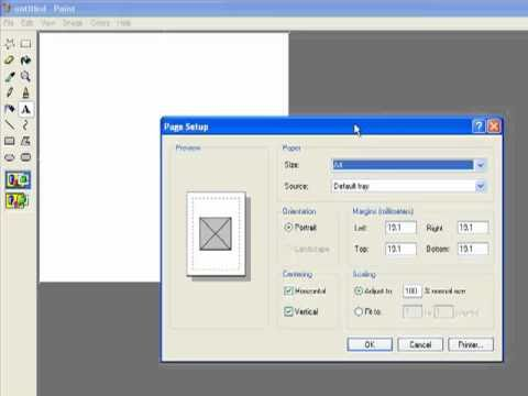 how to make a cd cover on paint - YouTube