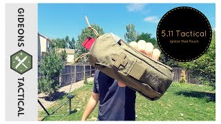 When Trauma Strikes: 5.11 Tactical Ignitor Med Pouch