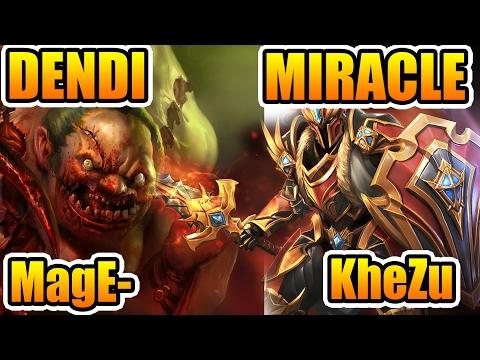 Live Stream 🔴Dendi [Pudge] MagE- [SF] Khezu [Void] vs Miracle- [DK] Sexybamboe [Weaver]